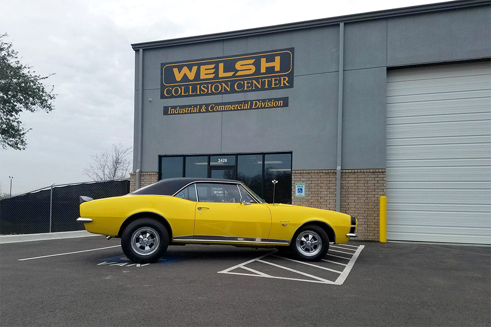 Welsh Collision Center Vehicle Restoration Project
